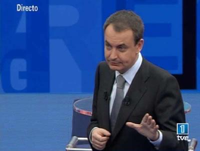 Zapatero enTVE