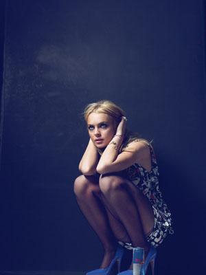 Lindsay Lohan por Bryan Adams